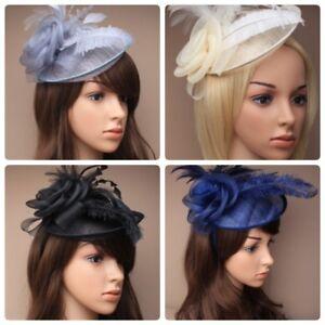 Fascinator Hut Mit Stirnband, Ascot, Rennen,Hochzeit, Damen Tag