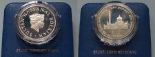 New listing Brunei. 1977 Ten Dollars. Silver - Cased. Proof
