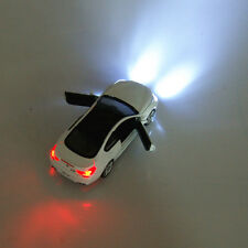 BMW M6 Model Cars 1:32 Sound&Light Version White Alloy Diecast Collection&Gifts