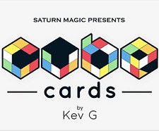 Saturn Magic Presents Cube Cards by Kev G from Murphy's Magic