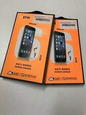 """EFM SCREEN IPHONE 6 6S 4.7""""  PROTECTOR FOR  ARMOUR ANTI SHOCK DROP EFSGAAE118CLE"""