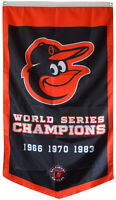 Baltimore Orioles World Series Champions  Flag Banner Man Cave 30x50Inch