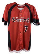 St Louis Scorpions #7 Béisbol Jersey TALLA S