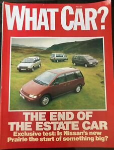 What Car? magazine - March 1989