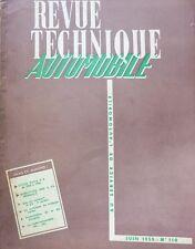 Revue technique BUICK V8 40V 50V CENTURY 60V ROADMASTER 70 SKYLARK 110 1955 4 CV