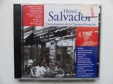 CD ALBUM  Chefs d oeuvre de la chanson francaise HENRI SALVADOR CF003