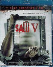 SAW V Blu-ray Sealed Horror Halloween