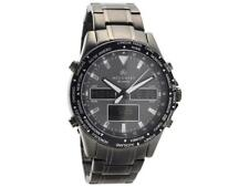 Accurist 7102 Gents Analogue Digital World Time Bracelet Watch RRP £249.00