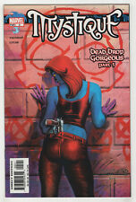 Mystique #5 (Oct 2003, Marvel) [Dead Drop Gorgeous] Vaughan, Lucas, Linsner D