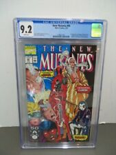 New Mutants 98 CGC 9.2 White Pages ,1st appearance of Deadpool
