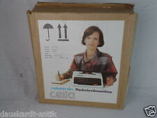 CELLA DDR Schreibmaschine VEB Robotron Elektronic S 1001 Original Karton