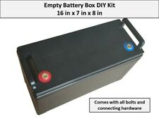 DIY Empty Battery Box Case For Battery Building Projects