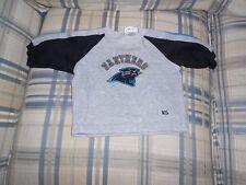 Carolina Panthers gray sweatshirt youth sz 3/6 mos