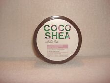 1 Bath & Body Works Coco Shea WHITE TEA Super Soothing Body Souffle 8 oz