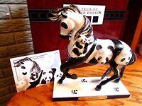 TRAIL OF PAINTED PONIES Endangered Species PANDA PAWS Embossed Horse 1E/1979 NIB