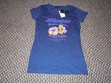 Hang Ten Blu Scuro T-shirt taglia M Nuovo con etichette