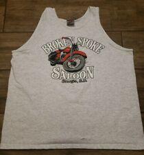 New listing Vintage 90S Broken Spoke Saloon Sturgis Sd. Graphic Tank Top Size Xl Usa