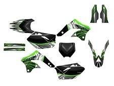 KXF 450 graphics 2006 2007 2008 Kawasaki KX 450F sticker kit #7777 Green