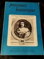Provence Historique:Partis et discours politiques (XVIe - XVIIIe siècles)
