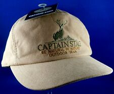 RARE BNWT CAPTAIN STAG Japan OUTDOORS GEAR Men's Cap Man Cave COLLECTABLE In Aus