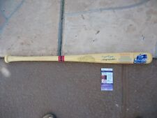 COOPERSTOWN WRIGLEY FIELD BAT SIGNED BY ERNIE BANKS AND BILLY WILLIAMS JSA COA