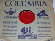DINAH SHORE I May Be Wrong But I Think/ Who'll Buy My Violets 78 Columbia 37140