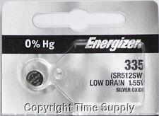 1 pcs 335 Energizer Watch Batteries SR512SW 512SW 0%HG