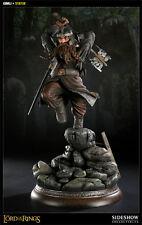 Sideshow Gimli Exclusive Polystone Statue FactSeald LOTR Aragorn Gandalf Boromir