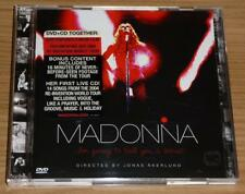 MADONNA I'm Going To Tell You A Secret EU LIVE CD + DVD 9362-49990-2 Mint!!