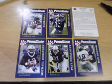 2005 PENN STATE NITTANY LIONS THE SECOND MILE COMPLETE SET (25) CARDS