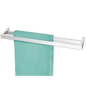 Zack Doppel Handtuchstange LINEA Edelstahl poliert 40039 Handtuchhalter