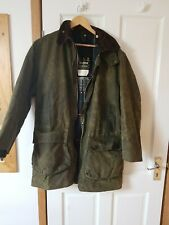 A400 Barbour Northumbria Green Waxed Jacket C40/102CM
