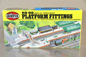 AIRFIX 3607 HO OO GAUGE STATION PLATFORM FITTINGS MODEL RAILWAY KIT nz