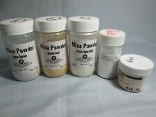 MICA POWDERS FOR GLASS FUSING - PLUS PEARL METALLIC ENAMEL- SIFTER