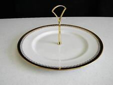 """1987"" Royal Albert Fine China ""Clarence"" Center Handled Tidbit Dessert Plate"