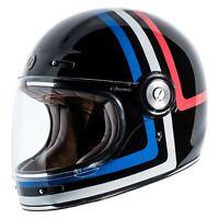 TORC T105AMT24 T-1 Americana Tron Large Black/Red/Blue Full Face Helmet