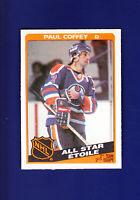 Paul Coffey AS HOF 1984-85 O-PEE-CHEE OPC Hockey #217 (NM+) Edmonton Oilers
