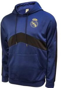 Icon Sports Real Madrid Soccer Unisex Hoodie Sweatshirt Medium