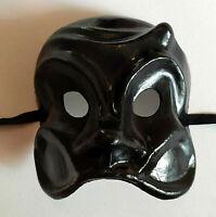 Arlecchino - Maschera viso carnevale indossabile artigianale in cartapesta