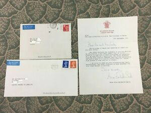 Diana Princess of Wales - Anne Beckwith Smith - Signed Autographed Letter 1991