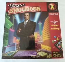 Vegas Showdown a Strategy Game of Bidding and Building Avalon Hill 653569087069