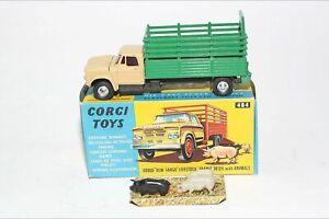 Corgi 484 Dodge Livestock Truck, VNM in Good Original Box