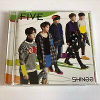 SHINee FIVE JAPAN CD w/OBI Free Shipping
