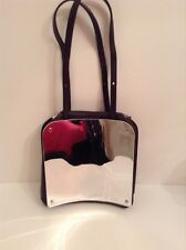 BNWT 100% MAISON MARTIN MARGIELA Leather Mirror Effect Runway Handbag RRP £1250
