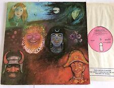 King Crimson In The Wake Of Poseidon Uk Pink Island A1/B1 Nice Copy !!
