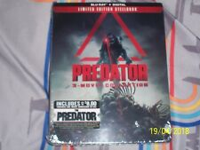 Predator 3 - Movie Collrctior Blu-Ray+Digital Limited Edition Sreelbook New
