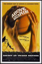 ABOVE THE RIM -1994- Original D/S 27x40 Movie Poster - TUPAC SHAKUR - basketball