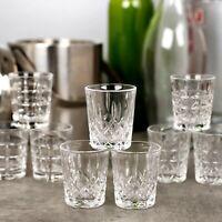 Set Of 6 12 60ml Queensway Shot Glasses Bar Quality Shot Vodka Liquor Party