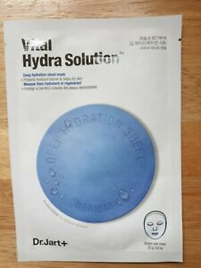 DR JART+ Vital Hydra Solution Sheet Mask (1 Sheet) Deep Hydration new