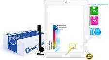Touchscreen Glas Digitizer für Apple iPad 4 mit Original LVA F-Kabel - WEIß ֎